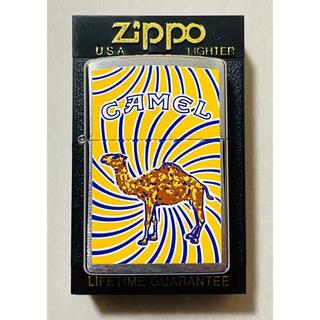 ジッポー(ZIPPO)の☆未使用品☆ ZIPPO CAMEL Swiry オイルライター 1999年製(タバコグッズ)