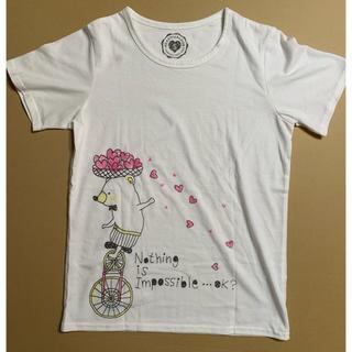 ラフ(rough)のrough HEART PARADISE Tシャツ(Tシャツ(半袖/袖なし))