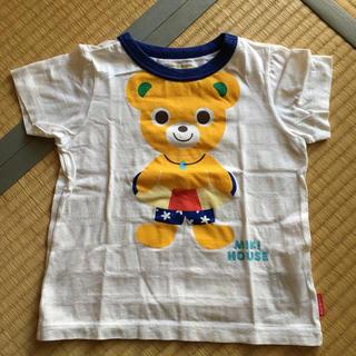 ミキハウス(mikihouse)のミキハウス  プッチー君 浮き輪 Tシャツ 100cm(Tシャツ/カットソー)