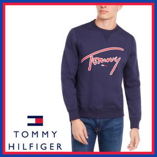 トミーヒルフィガー(TOMMY HILFIGER)の日本未入荷★TOMMY スウェット ロゴ トレーナー US/Sサイズ(スウェット)