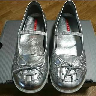 プラダ(PRADA)の早い者勝ち!!PRADA 子供靴  サイズ31(スニーカー)