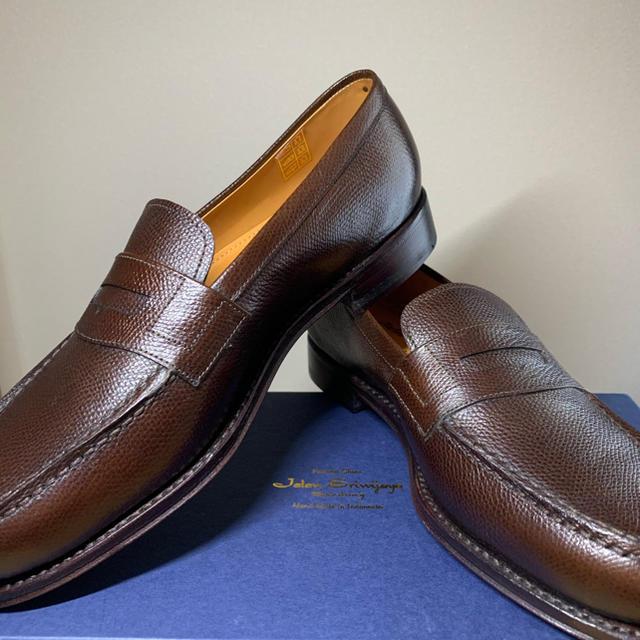 UNITED ARROWS(ユナイテッドアローズ)の【新品未使用】UA特注 ジャランスリウァヤ ローファー 39 25cm ブラウン メンズの靴/シューズ(ドレス/ビジネス)の商品写真
