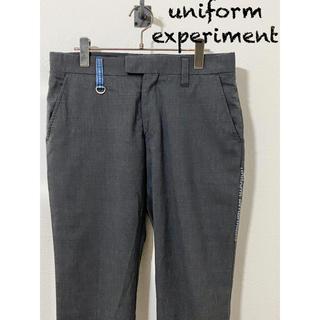 ユニフォームエクスペリメント(uniform experiment)のuniform experiment 9部丈 スラックス / サイズ2(スラックス)