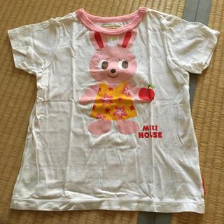 ミキハウス(mikihouse)のミキハウス  うさこ りんご Tシャツ 110cm(Tシャツ/カットソー)