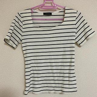 イング(INGNI)のトップス ボーダー(Tシャツ/カットソー(半袖/袖なし))
