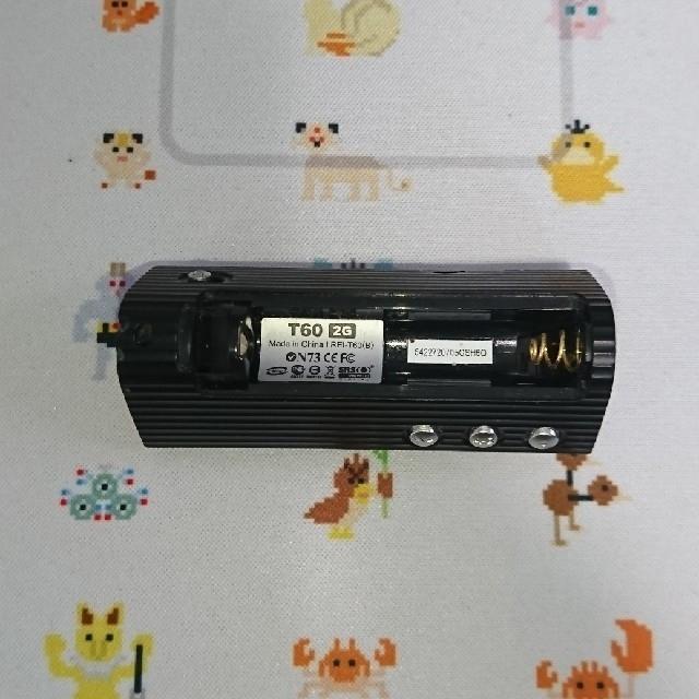 iriver(アイリバー)のiriver T60 ブラック 2G スマホ/家電/カメラのスマホアクセサリー(その他)の商品写真
