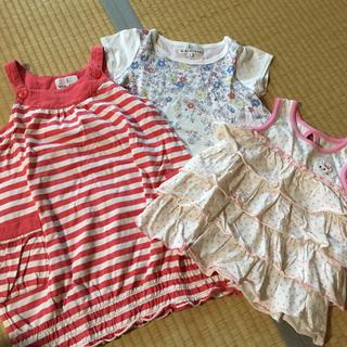 クミキョク(kumikyoku(組曲))の組曲 Tシャツ 100cm 110cmチュニック 110cm 120cm(Tシャツ/カットソー)