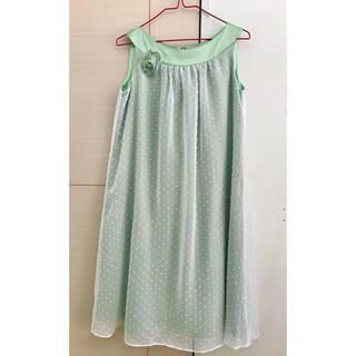 キャサリンコテージ(Catherine Cottage)のグリーン ドレス ワンピース レディース(ミディアムドレス)