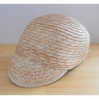 エリアーヌジジ(elianegigi)の【新品】40%オフ eliane gigi 帽子 フリーサイズ レディース (麦わら帽子/ストローハット)