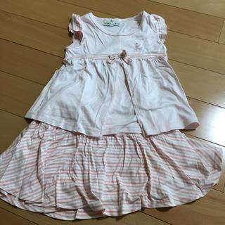クミキョク(kumikyoku(組曲))の組曲 Tシャツ キュロット セットアップ Sサイズ (Tシャツ/カットソー)