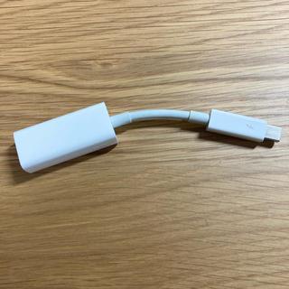 マック(Mac (Apple))の Apple Thunderbolt - ギガビットEthernetアダプタ(PC周辺機器)