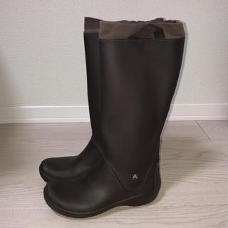 クロックス(crocs)のささ様専用 クロックス レインブーツ ロングブーツ 23 23.5(レインブーツ/長靴)
