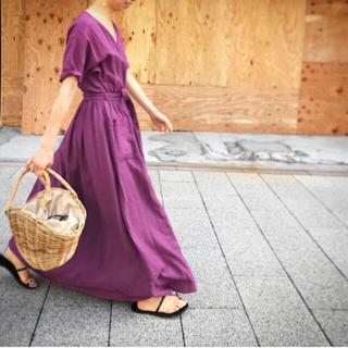 ツルバイマリコオイカワ(TSURU by Mariko Oikawa)のツルバイマリコオイカワ ワンピース tsuru by mariko oikawa(ロングワンピース/マキシワンピース)