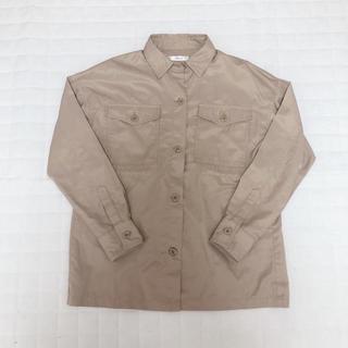 シマムラ(しまむら)のしまむら CPOシャツ ドロストシャツ L(ミリタリージャケット)