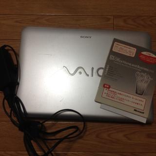 SONY - 着払い SONY VAIO ノートパソコン ノートPC オフィス付 HDDなし