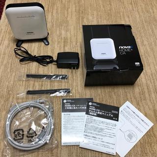 WiMAX novas home+ca Wi-fiルーター(PC周辺機器)