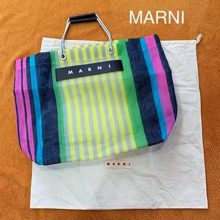 Marni - 6/9まで☆MARNI 人気のトート バッグ フラワーカフェバッグ マルニ