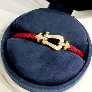 フレッド(FRED)の55万円 FRED フレッド K18 フォース10 LM ダイヤ ブレスレット(ブレスレット/バングル)