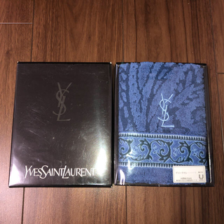 イヴサンローランボーテ(Yves Saint Laurent Beaute)のイブサンローラン ゲストタオル 2枚(タオル/バス用品)