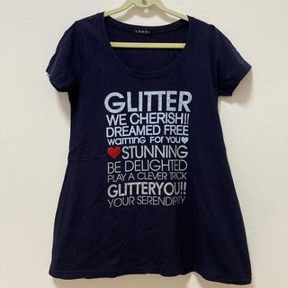 イング(INGNI)のTシャツ プリント ストーン付き(Tシャツ/カットソー(半袖/袖なし))