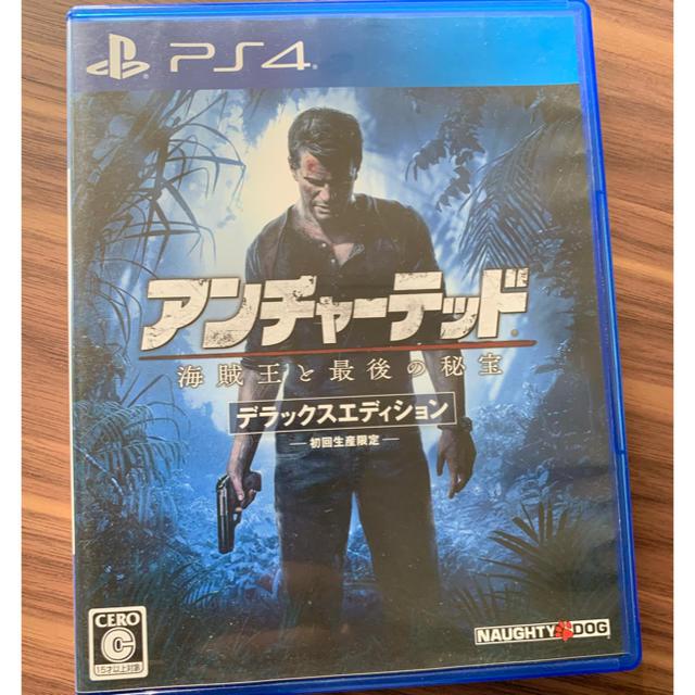 PlayStation4(プレイステーション4)のアンチャーテッド 海賊王と最後の秘宝 PS4 エンタメ/ホビーのゲームソフト/ゲーム機本体(家庭用ゲームソフト)の商品写真