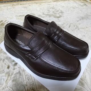 アシックス(asics)の未使用 革靴 pedala  アシックスウォーキング  24センチ(ローファー/革靴)