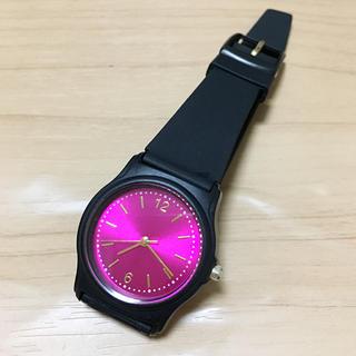 腕時計 ピンク ブラック