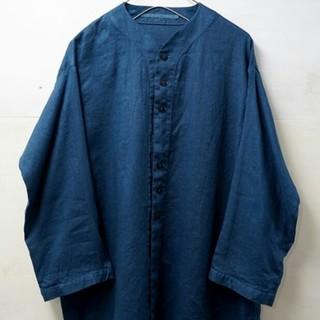 ドゥルカマラ(Dulcamara)のノーカラーワイドシャツ VITAL サイズ2(シャツ)
