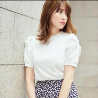 パフスリーブTシャツ♡her lip to(Tシャツ(半袖/袖なし))