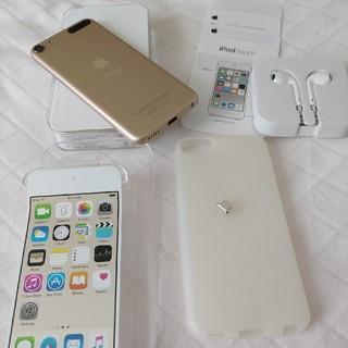 アイポッドタッチ(iPod touch)のiPod touch 16GB Gold(第6世代)(ポータブルプレーヤー)