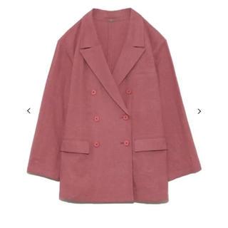 ミラオーウェン(Mila Owen)のミラオーウェン セットアップジャケット ピンク 1(テーラードジャケット)