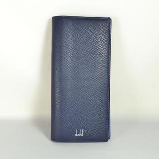 ダンヒル(Dunhill)のダンヒル Dunhill カドガン レザー⼆つ折り⻑財布 ML0418 中古美品(長財布)