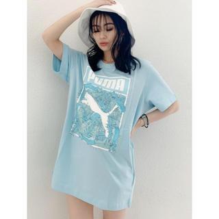 ジェイダ(GYDA)の【WEB限定】PUMA ロゴフィルTシャツ(Tシャツ/カットソー(半袖/袖なし))