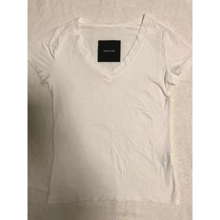 バーニーズニューヨーク(BARNEYS NEW YORK)のYOKO CHAN コンパクトTシャツ Vネック(Tシャツ(半袖/袖なし))