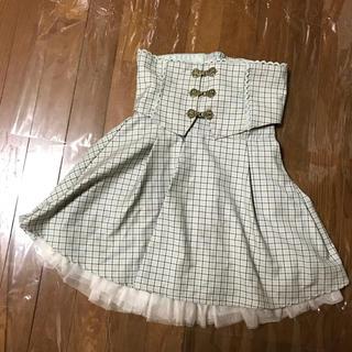 シークレットハニー(Secret Honey)のSecret Honey グリーンチェックミニスカート&コルセット(ミニスカート)