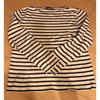 ビューティアンドユースユナイテッドアローズ(BEAUTY&YOUTH UNITED ARROWS)のボーダーカットソー(長袖)(Tシャツ/カットソー(七分/長袖))