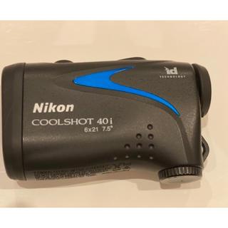 ニコン(Nikon)のゴルフ距離計測計 クールショット40i(ゴルフ)