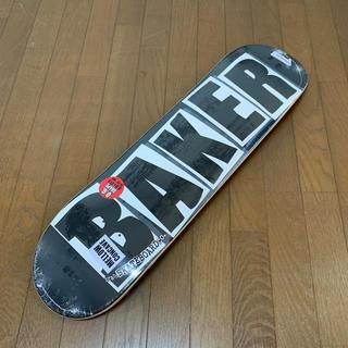 ベイカー(BAKER)の新品 BAKER ベイカー ベーカー スケボー デッキ 8.0 黒 ブランドロゴ(スケートボード)