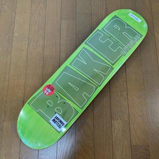 ベイカー(BAKER)の新品 BAKER ベイカー スケボー デッキ 8.0 ライムグリーン(スケートボード)