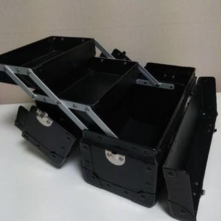プロ用 メイクボックス ブラック (メイクボックス)