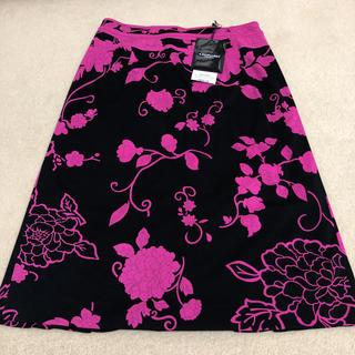 レオナール(LEONARD)のレオナール  新品スカート42 綺麗なシルエット(ひざ丈スカート)