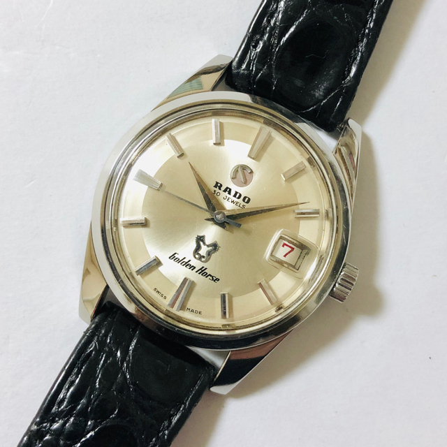 RADO(ラドー)のRADO ラドー ゴールデンホース 30石 自動巻 OH済 美品 稼働品 メンズの時計(腕時計(アナログ))の商品写真