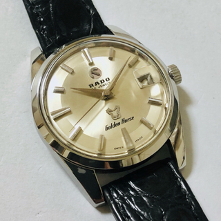 ラドー(RADO)のRADO ラドー ゴールデンホース 30石 自動巻 OH済 美品 稼働品(腕時計(アナログ))