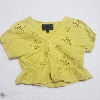 マーキーズ(MARKEY'S)のベビー キッズ 女の子 トップス  ブラウス 刺繍 80cm(シャツ/カットソー)