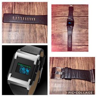 ディーゼル(DIESEL)の美品 レア DIESEL DZ-7086 電池新品 ディーゼル メンズ腕時計(腕時計(デジタル))
