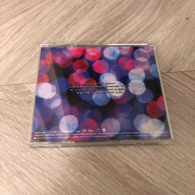 BACK NUMBER(バックナンバー)のシャンデリア バックナンバー エンタメ/ホビーのCD(ポップス/ロック(邦楽))の商品写真