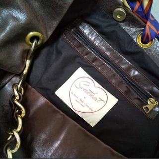 アッシュペーフランス(H.P.FRANCE)の【値下げ】sweet heart スウィートハート スカーフ付チェーンバッグ (ショルダーバッグ)