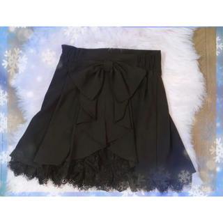 シークレットハニー(Secret Honey)のSecret Honey スカート ブラック レース(ミニスカート)