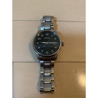 セイコー(SEIKO)のセイコーSEIKOプレサージュ6R15-03N0自動巻SARX039ブラック(腕時計(アナログ))