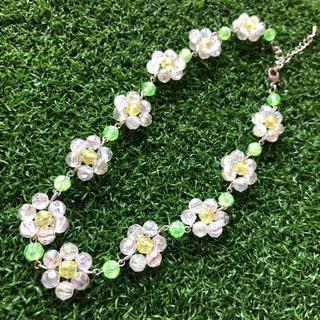 ジュエティ(jouetie)のdaisy all flower choker(ネックレス)
